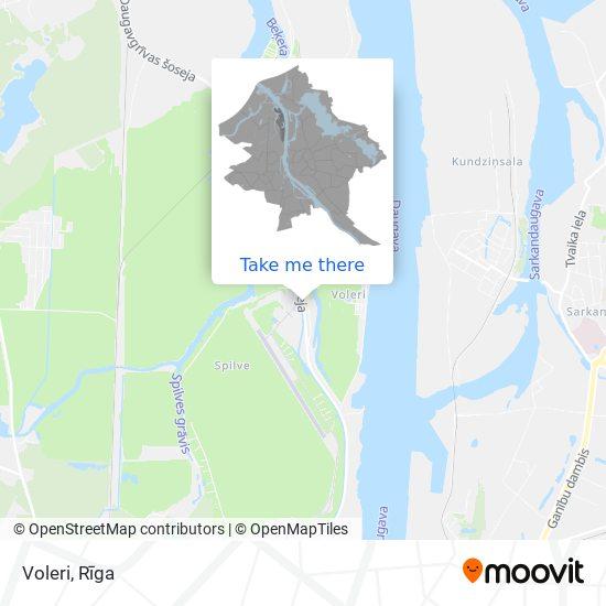 Voleri map