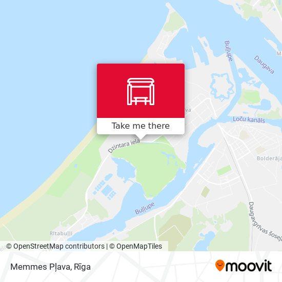 Memmes Pļava map
