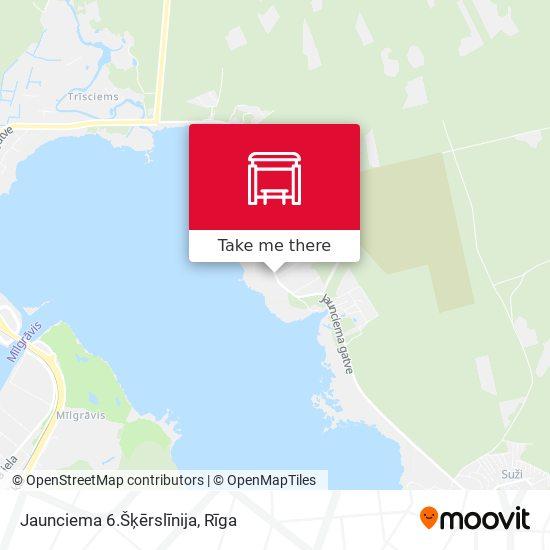 Jaunciema 6.Šķērslīnija map