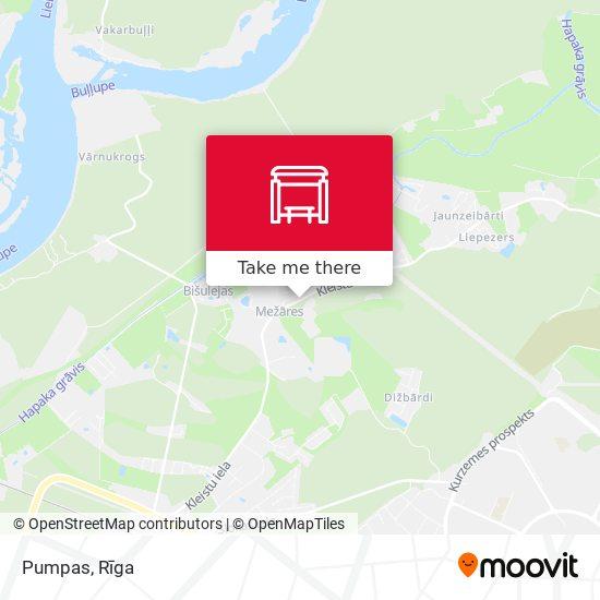 Pumpas map