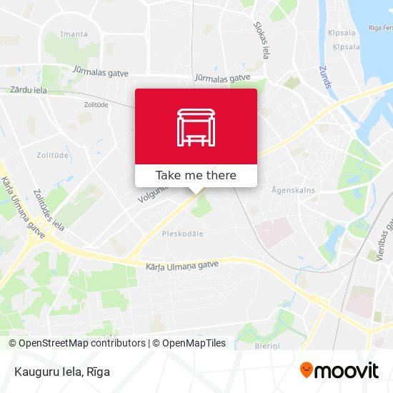 Kauguru Iela map