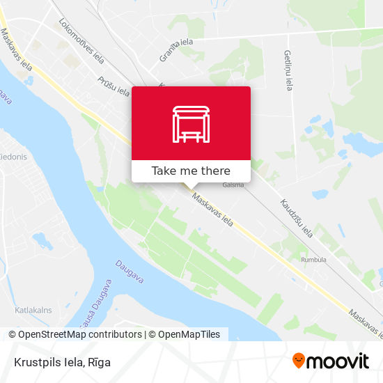 Krustpils Iela map