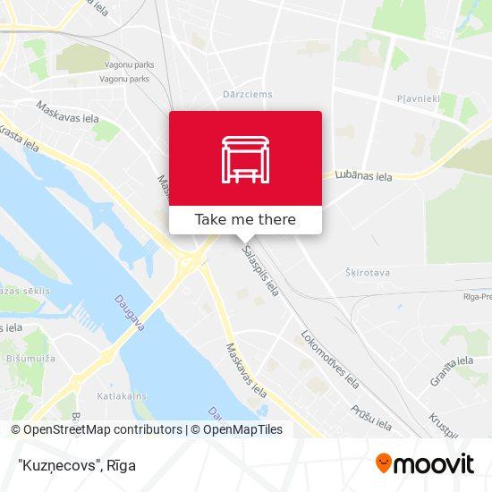 """Kuzņecovs"" map"