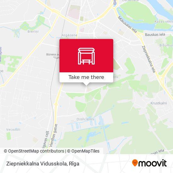 Ziepniekkalna Vidusskola map