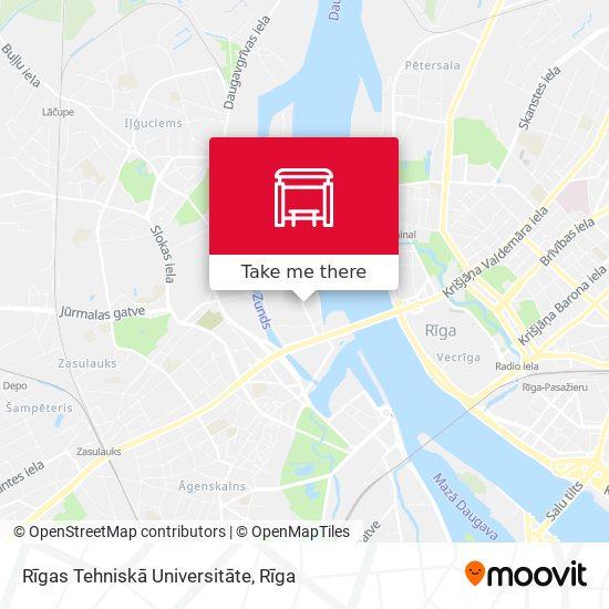 Rīgas Tehniskā Universitāte map