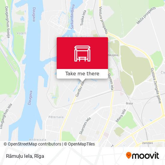 Rāmuļu Iela map