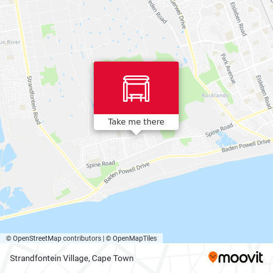 Strandfontein Village map