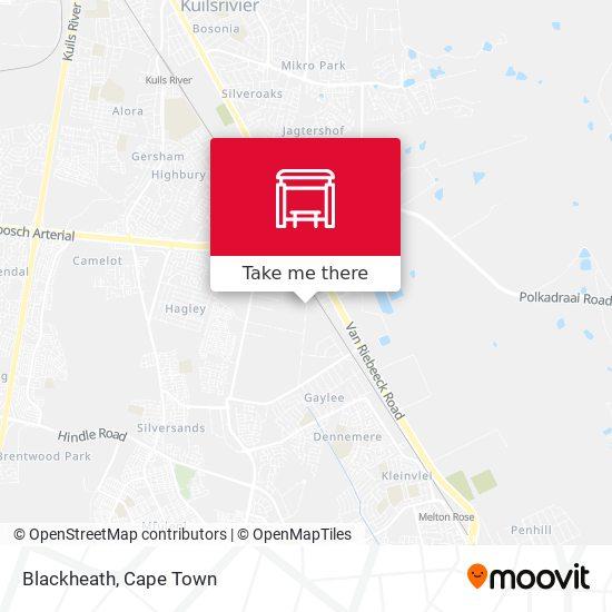 Blackheath map