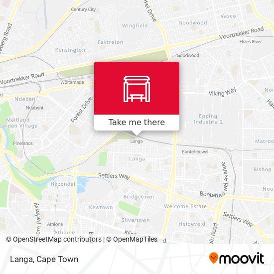 Langa map