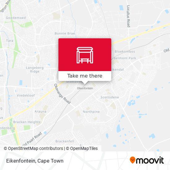 Eikenfontein map