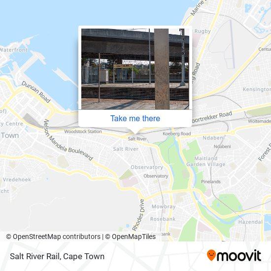 Salt River Rail map