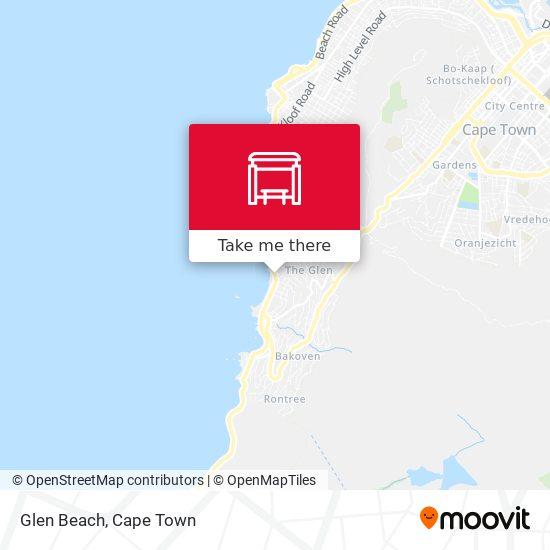 Glen Beach map