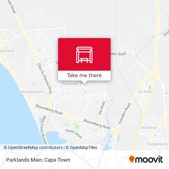 Parklands Main map