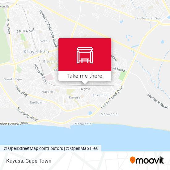 Kuyasa map