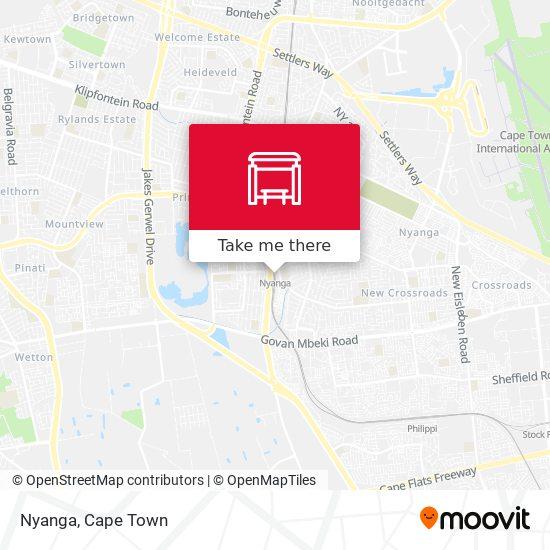 Nyanga map