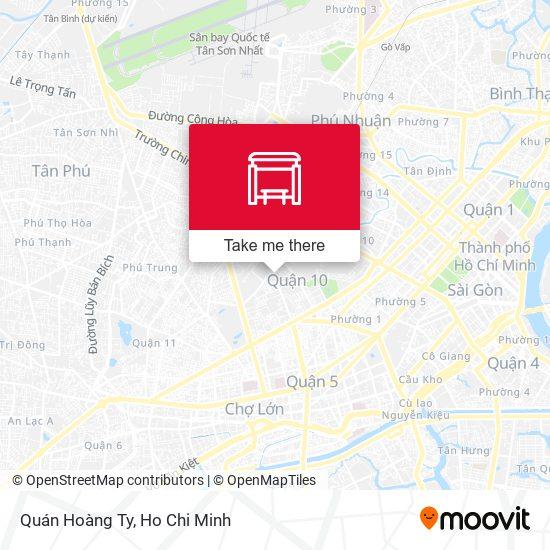Quán Hoàng Ty map