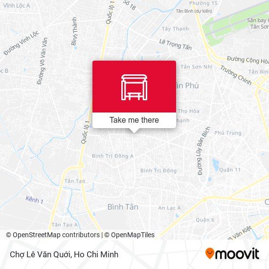 Chợ Lê Văn Quới地圖