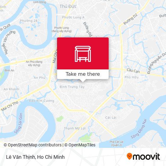 Lê Văn Thịnh地圖