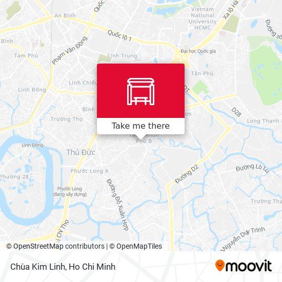 Chùa Kim Linh地圖