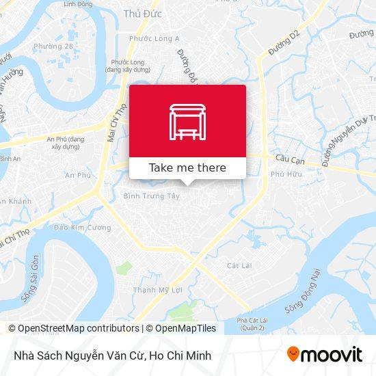 Nhà Sách Nguyễn Văn Cừ地圖