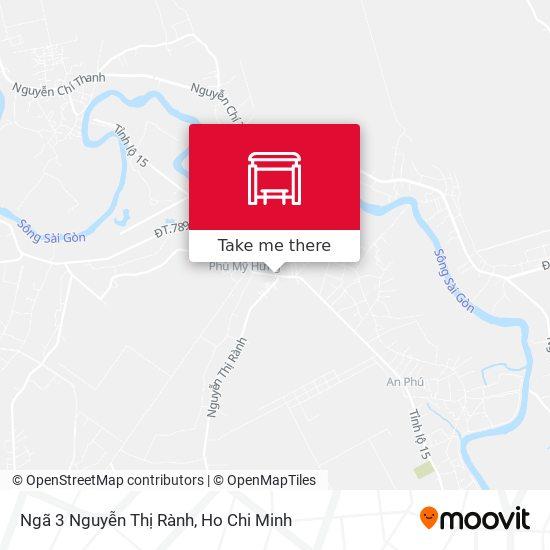 Ngã 3 Nguyễn Thị Rành地圖