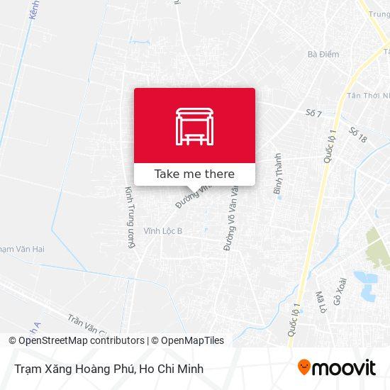 Trạm Xăng Hoàng Phú map