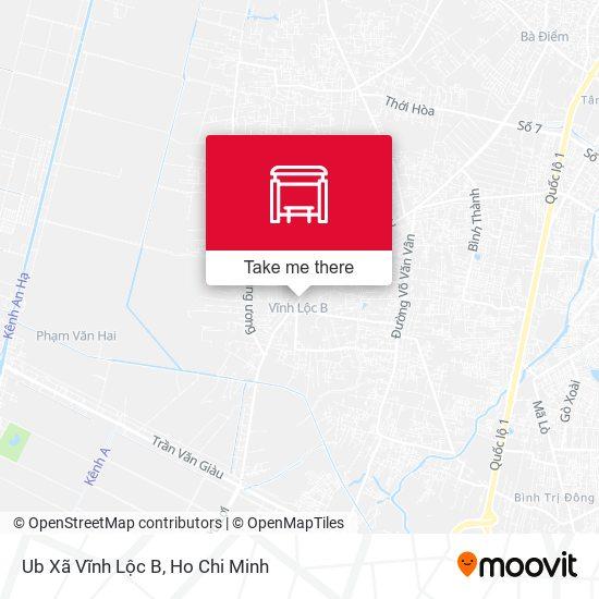 Ub Xã Vĩnh Lộc B地圖