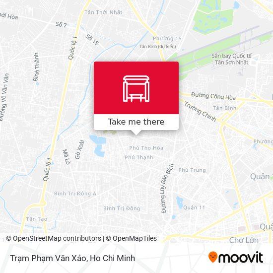 Trạm Phạm Văn Xảo map