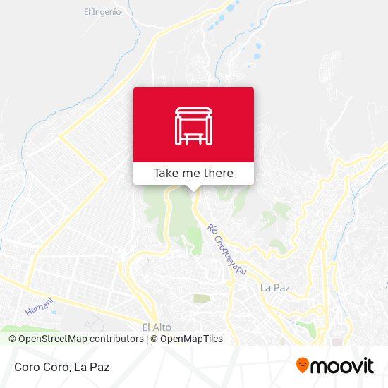 Coro Coro map