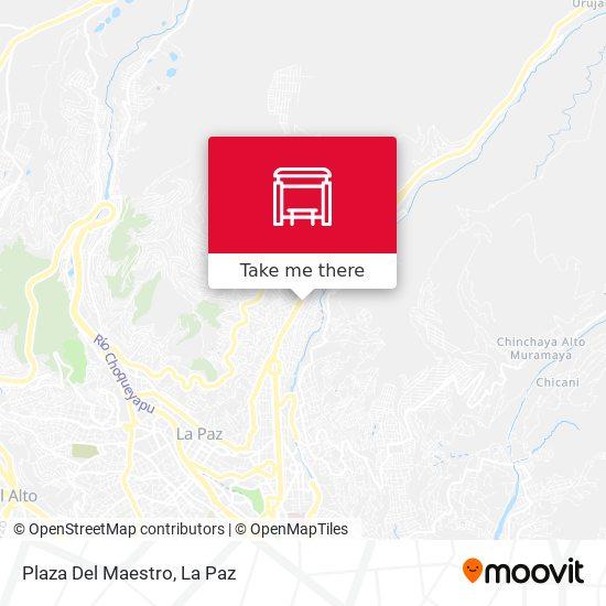 Plaza Del Maestro map