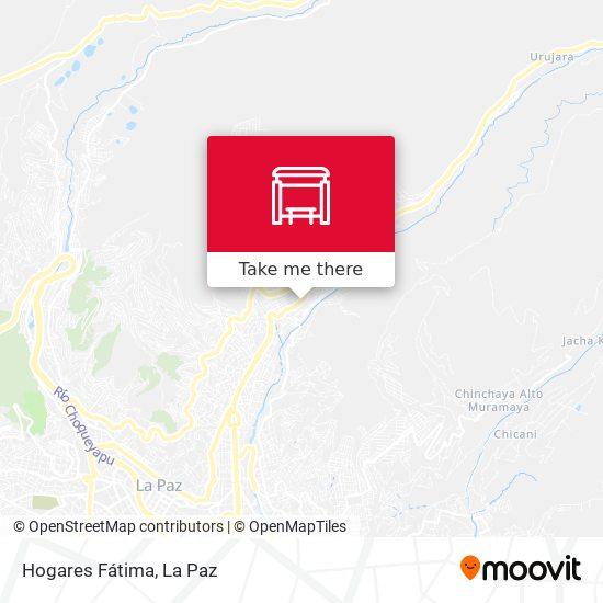 Hogares Fátima map