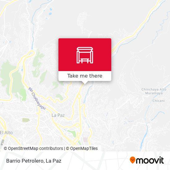 Barrio Petrolero map