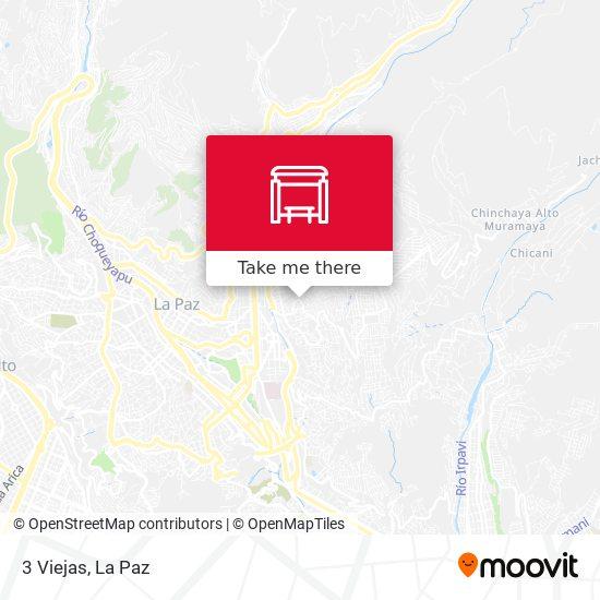 3 Viejas map