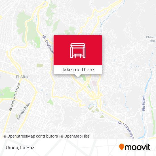Umsa map