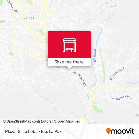 Plaza De La Loba - Ida map