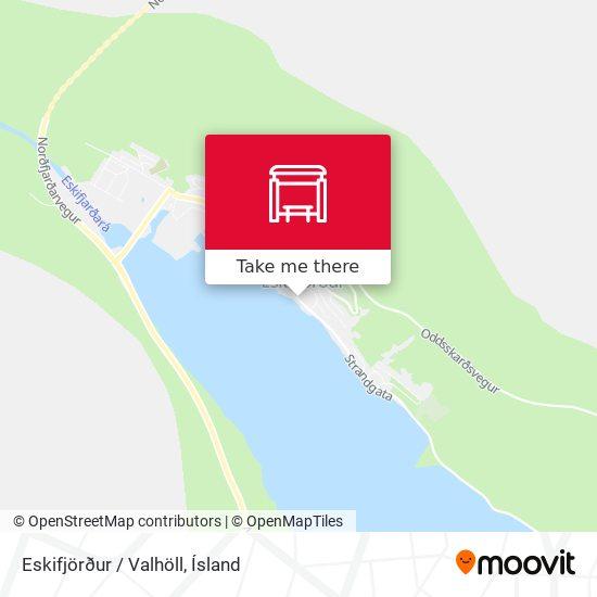 Eskifjörður / Valhöll map