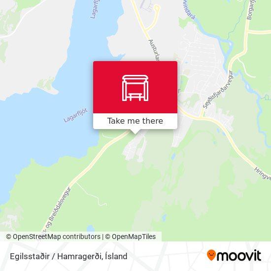 Egilsstaðir / Hamragerði map