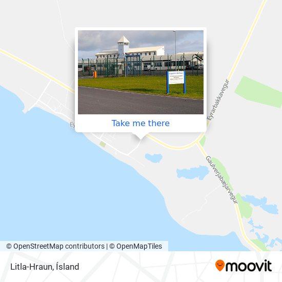 Litla-Hraun map