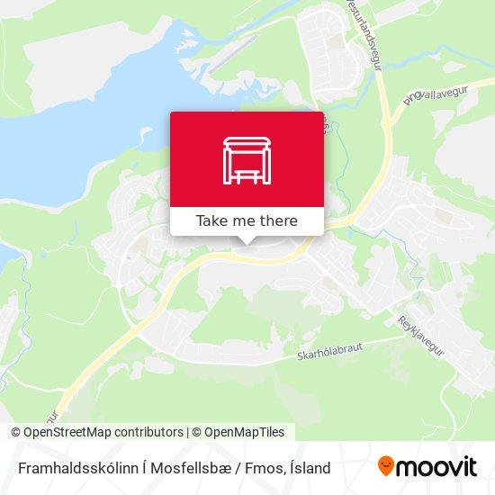 Framhaldsskólinn Í Mosfellsbæ / Fmos map