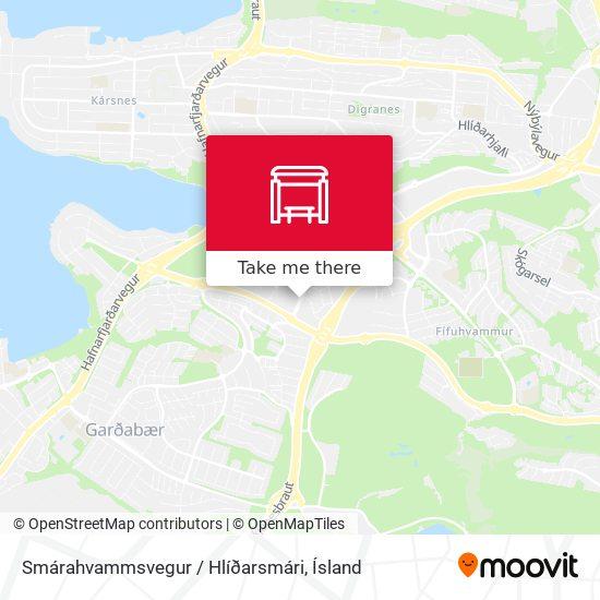 Smárahvammsvegur / Hlíðarsmári map
