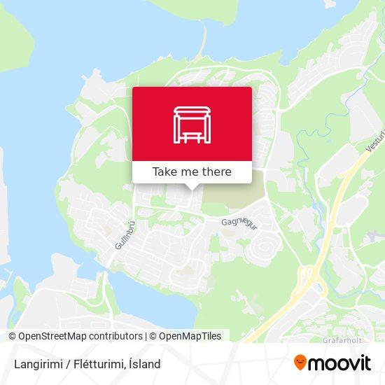 Langirimi / Flétturimi map