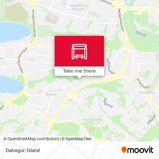 Dalvegur map