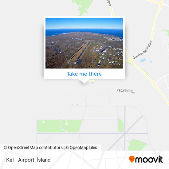 Kef - Airport map