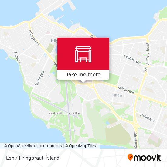 Lsh / Hringbraut map