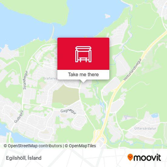 Egilshöll map
