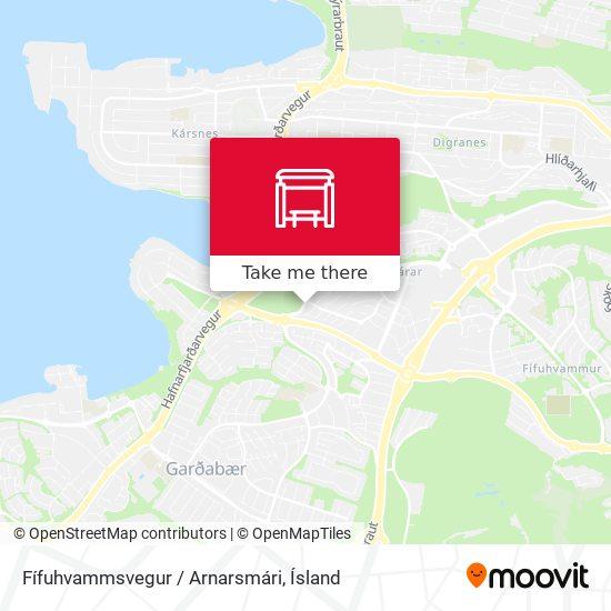 Fífuhvammsvegur / Arnarsmári map