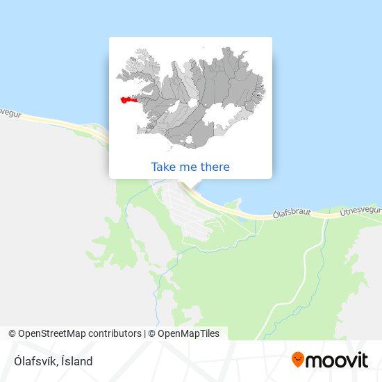 Ólafsvík map
