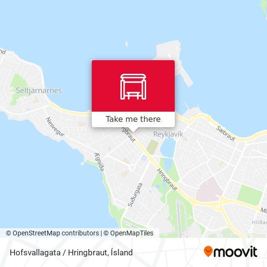 Hofsvallagata / Hringbraut map