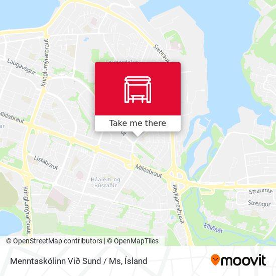 Menntaskólinn Við Sund / Ms map