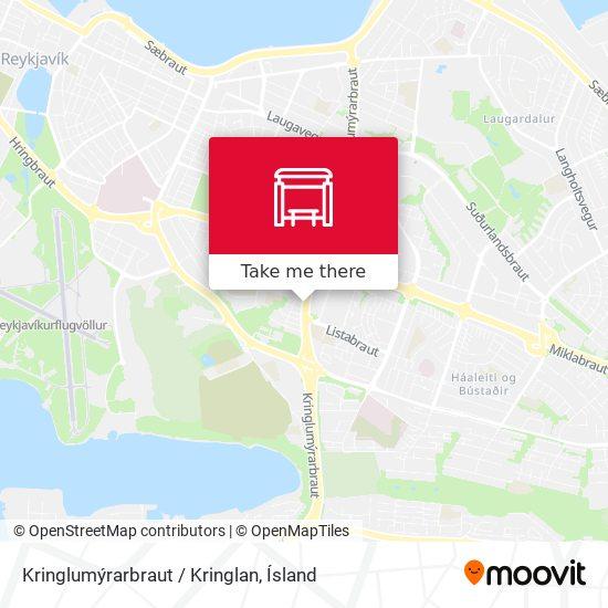 Kringlumýrarbraut / Kringlan map